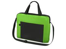 Конференц сумка для документов Congress, черный/ зеленый фото
