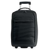 Мягкий чемодан, черный фото