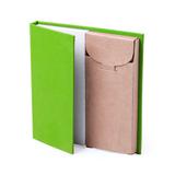 Набор LUMAR: листы для записи (60шт) и цветные карандаши (6шт), зеленый фото