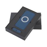 """Набор """"Камень"""" на 2 предмета (аккумулятор, флешка), 8000 mAh /16Gb, синий фото"""