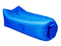 Надувной диван Биван 2.0, синий фото