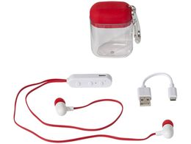 Наушники с функцией Bluetooth®, белый/ красный фото