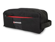 Несессер WENGER с ручкой для переноски, 3 отделения, черный, красный фото