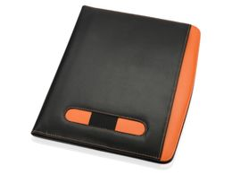 Папка для документов А4 Guidon, черный/ оранжевый фото