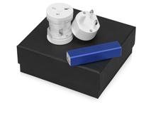 Подарочный набор Charge с адаптером и зарядным устройством, синий фото