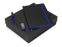 Подарочный набор Q-edge с флешкой, ручкой-подставкой и блокнотом А5 фото