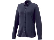 Рубашка Bigelow женская с длинным рукавом, синяя фото