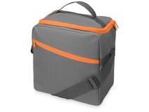 Изотермическая сумка-холодильник Classic, оранжевый/ серый фото