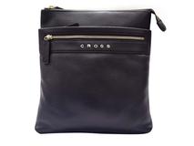 Сумка наплечная CROSS Nueva FV, 2 дополнительных кармана на молнии, коричневый фото