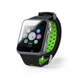 Умные часы DEYMON, черный/ зеленый фото