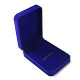 Упаковка Бархатная коробочка, синяя фото