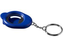Брелок - открывалка, синий фото