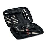 Набор инструментов, 10 предметов, черный фото