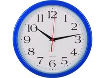 Часы настенные Attendee, синий фото