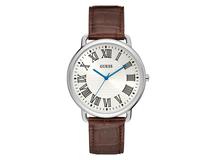 Часы наручные, мужские, серый, белый, коричневый фото