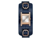 Часы наручные, женские, синий/ золотой, серебряный/серый фото