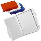 Блокнот для записей с авторучкой A6, белый фото