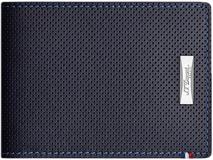 Бумажник S.T. Dupont Defi с RFID 110 х 87, синий фото