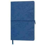 Бизнес-блокнот в клетку на резинке thINKme Tabby Franky А5, 256 стр., темно-синий фото