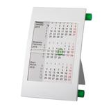 Календарь настольный на 2 года, белый/ зеленый фото