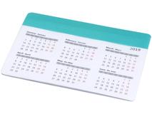 Коврик для мыши Chart с календарем, бирюзовый фото