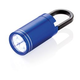 Фонарик LED Pull it, синий фото