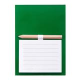 Магнит с листами для записи и карандашом YAKARI, зеленый фото