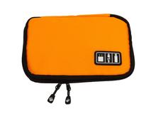 Органайзер для зарядных устройств, USB-флешек и других аксессуаров, оранжевый фото
