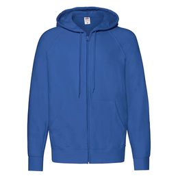 Толстовка без начеса LIGHTWEIGHT HOODED SWEAT, синий фото