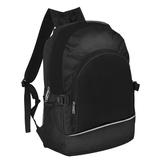 Рюкзак, полиэстер, текстиль, черный фото