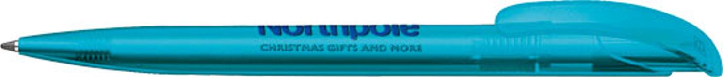 Ручка шариковая Challenger Icy, голубой фото