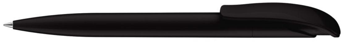 Ручка шариковая Challenger Polished, черный, черный фото