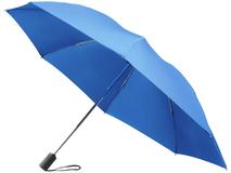 Зонт складной, синий фото