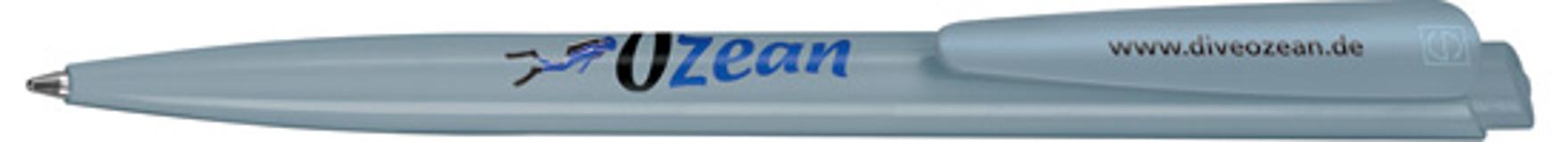 Ручка шариковая Dart Basic, голубой/голубой фото