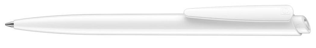 Ручка шариковая Dart Polished, белый фото