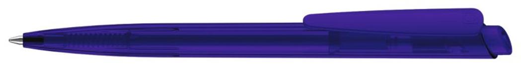 Ручка шариковая Dart Clear, прозрачный синий 2735 фото