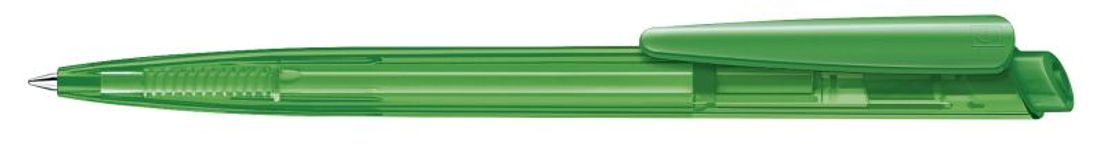 Шариковая ручка Dart Clear, зеленая фото