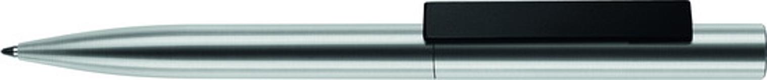 Ручка металлическая Signer Liner, сталь/черный фото