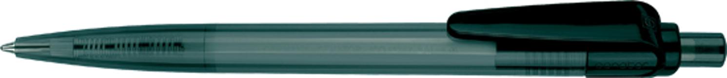 Ручка шариковая Sunny, прозрачный антрацит/черный фото