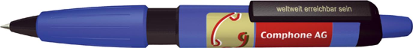 Ручка шариковая Big Pen XL, синий/черный фото