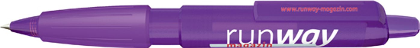 Ручка шариковая Big Pen XL Frosty, фиолетовый/фиолетовый фото