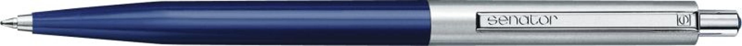 Ручка металлическая Point Polished Metal, синий фото