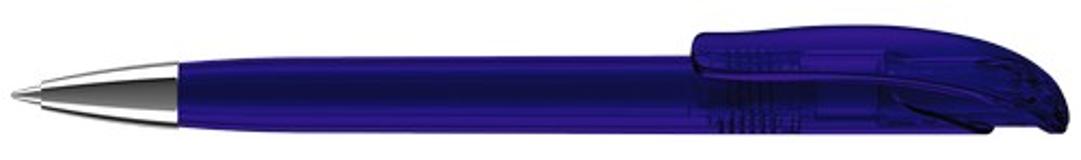 Ручка шариковая Challenger Clear XL, синий фото