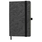 Бизнес-блокнот в линейку на резинке thINKme Tabby Justy А5, 256 стр., черный фото