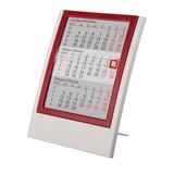 Календарь настольный на 2 года, белый, красный фото