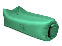 Надувной диван Биван 2.0, зеленый фото