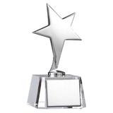 Стела Звезда, серый фото