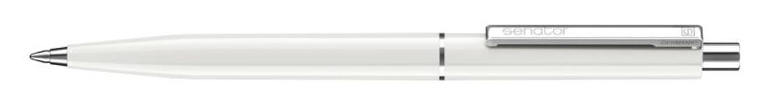 Ручка шариковая Point Polished, белый фото
