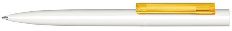 Шариковая ручка Headliner Polished Basic, белый/желтый фото