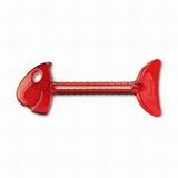 Выжиматель для тюбиков ROLLMOPS, красный фото